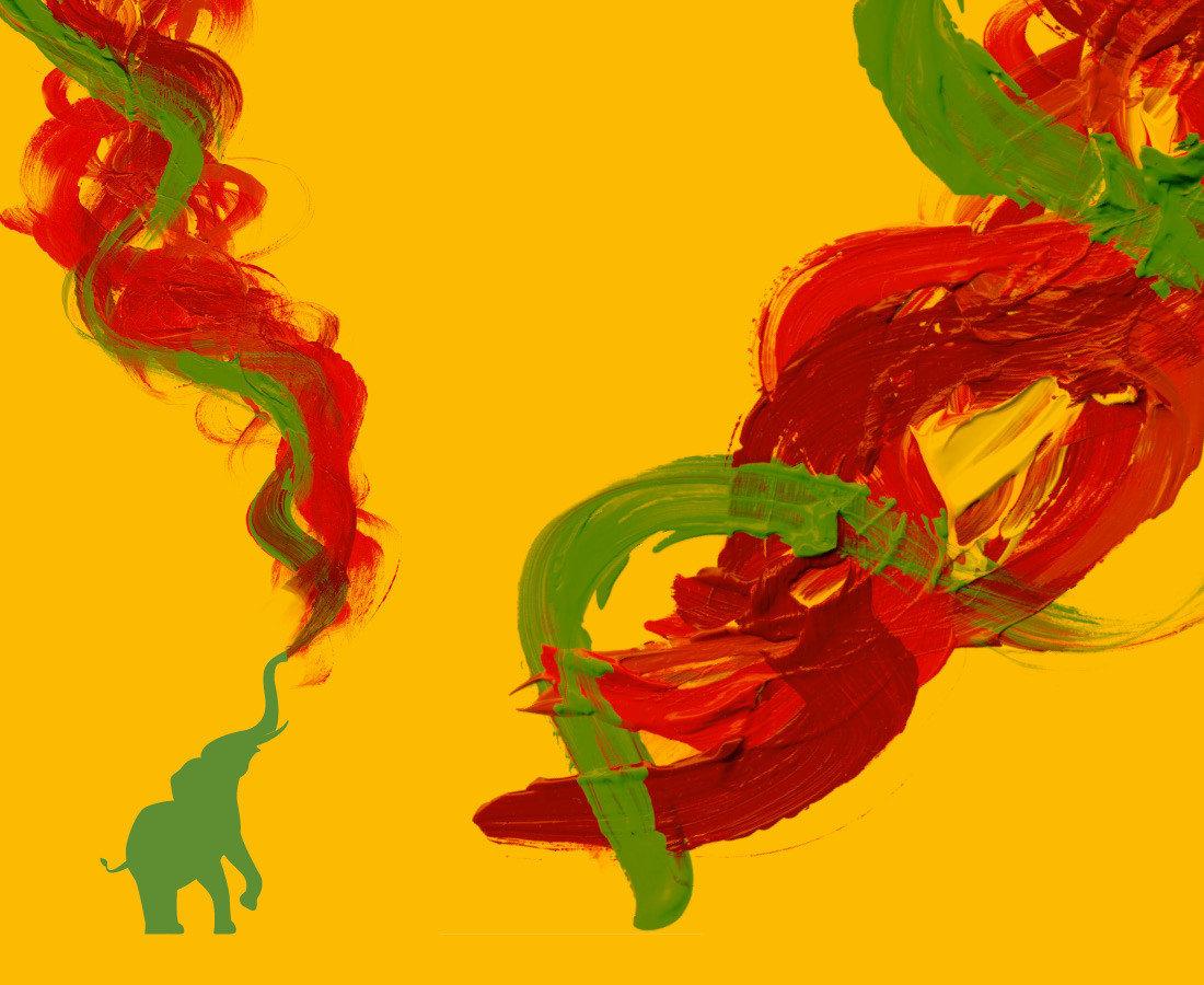 adpassion-kvw-bildung-elefant-acryl-technik-malerei-tecnica-acrilica-copertina-bolzano