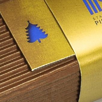 stahlbau pichler konzept design für mailing weihnachten, stahlträger packaging, spiel mit dem duft, waldemar kerschbaumer