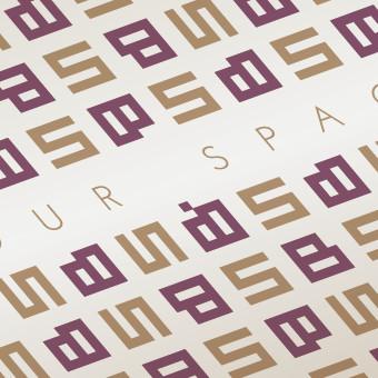 Logo Redesign mit Corporate Pattern der Firma Baustudio aus Bozen, Bolzano