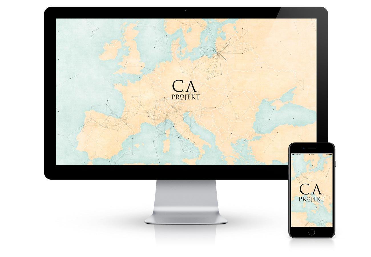 Erstellung onepage Website in Bozen, Südtirol: Ca Projekt mit Südtiroler Schmuckkünstlern in München. Webdesign von Webagentur adpassion in Bozen, Südtirol. Wordpress CMS.