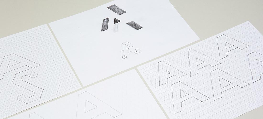 Akademie für sexuelle Bildung Südtirol: Logokonzept, Design, Skizzen mit Bleistiftzeichnung. Erste Designphase der Werbeagentur in Südtirol Bozen: adpassion.