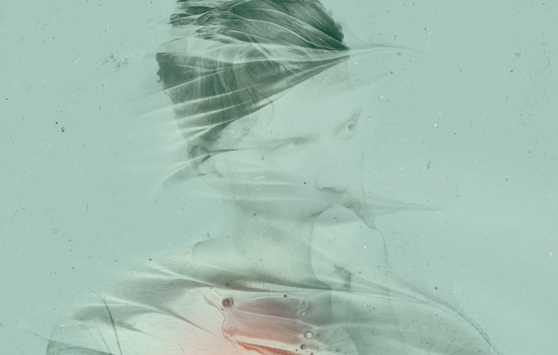 Dettaglio doppia esposizione con Photoshop. Creato da Waldemar Kerschbaumer, adpassion studio grafico Bolzano